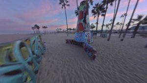 Fresh Squeeze: Z lotu drona przez Venice Beach