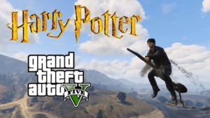 GTA V Harry-Potter-Mod