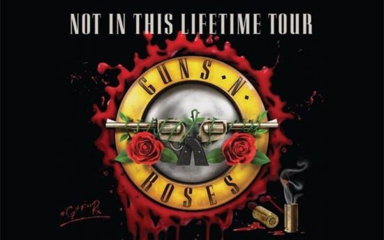 Guns N' Roses Not In This Lifetime Tour 2017 in Zurich