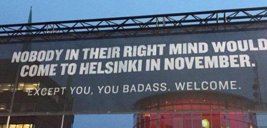 Nasıl Helsinki Kasım ayında alındı