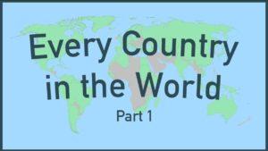 Numeri interessanti di tutti i paesi del mondo