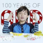 Children try sweets from the past 100 Years