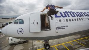 Last Call for Mr. Paul: Mit Parkour zum Flieger