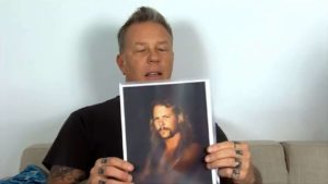 Metallica: James Hetfield kommenterte gamle bilder