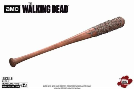 "The Walking Dead: Negar & quot; Lucille"" como Merch Oficial"