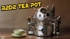 R2-D2 Steampunk kettle