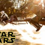 Star Wars Speeder Bikes i real