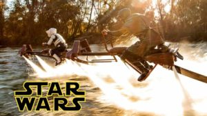 Star Wars Speeder Bikes in real