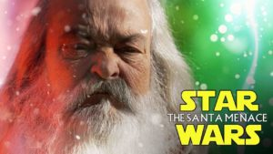 star wars: The Santa Menace (SANTA vs JESUS)
