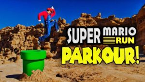 Super Mario Run Meets Parkour i Real Life