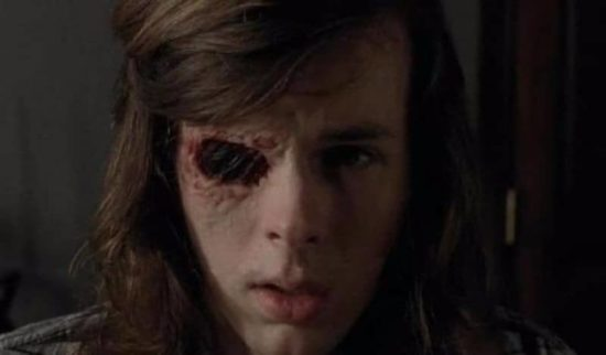 "& Quot; The Walking Dead"" Squadron 7, Episode 7: Carl synger for Negan & quot; Du er min Sunshine"""