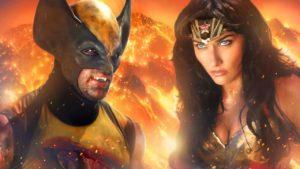 Wolverine kämpft gegen Wonder Woman bis zum Tod