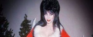 Elvira brings us into the Christmas spirit