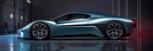 NextEV NIO EP9: Najszybszy samochód elektryczny na świecie