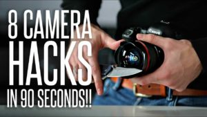 Eight camera tricks in 90 Seconds
