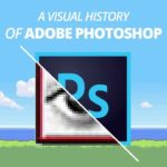 visualise l'histoire de Photoshop
