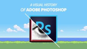 visualiserer historien til Photoshop
