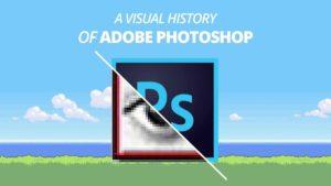 Die Geschichte von Photoshop visualisiert