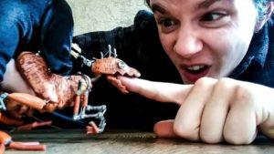 The Finger Raptor Doll Barnaby Dixon