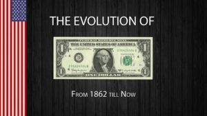 Evolution d'un certificat de dollar