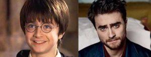 El elenco de Harry Potter: y el día de hoy