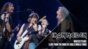 """Iron Maiden haben einen Liveclip zu """"Wasted Years"""" von der """"The Book Of Souls""""-Tour veröffentlicht"""