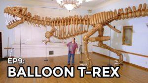 Naturalnej wielkości z T-Rex 1400 Balony