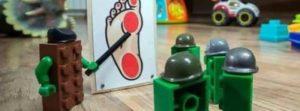 Militante Lego-Steine und ihre geheime Mission