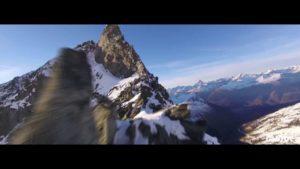 Mit einer Renn-Drohne über die Alpen gejagt