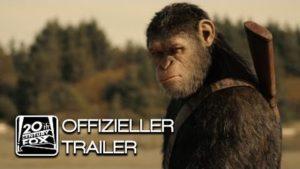 Planet är Affen: Överlevnad - Tyska Trailer