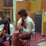 """Le Pietre Rotolanti"" 1968 Nelle registrazioni su ""Sympathy for the Devil"" in studio"