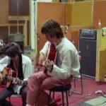 """""""The Rolling Stones"""" 1968 bei den Aufnahmen zu """"Sympathy For The Devil"""" im Studio"""