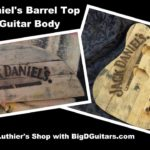 As an electric guitar is made of a Jack Daniel's Barrel
