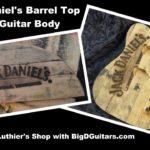 Som en elektrisk gitar er laget av en Jack Daniels Barrel