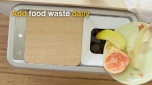 Zera Food Recycler turns organic waste into 24 hours fertilizer