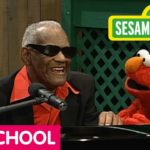 """Believe in Yourself"" Ray Charles and Elmo sing together"