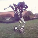 Boston Dynamics Wheelie-robot