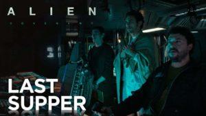Das letzte Abendessen bei Alien: Covenant