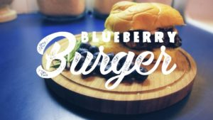 The punk rock recipe of the day: Blueberry Burger
