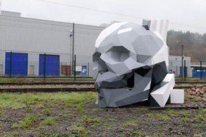 David Mesguich geometrik heykeller