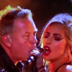 Fremdschäm-moment of the day: Metallica and Lady Gaga at the Grammy joint appearance