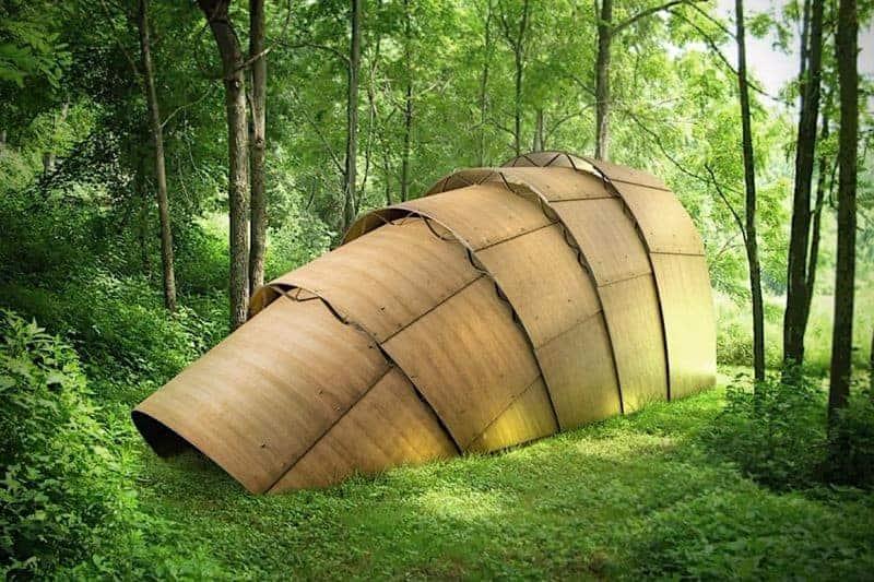 g rteltier teezelt ein holz pavillon f r drinnen und. Black Bedroom Furniture Sets. Home Design Ideas