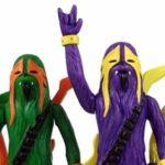 Heavy Wookies metallo, Moshing Marios und Drummer Ewoks