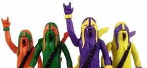 Heavy Metal Wookies, Moshing Marios und Drummer Ewoks