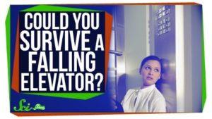 Kan du overleve et frit fald i elevatoren?