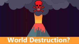 Könnte ein Vulkan die Welt zerstören?