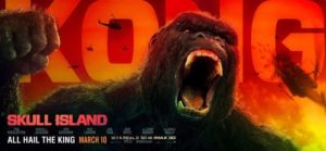 Kong: Skull Island - Tv-commercials en Quad Poster