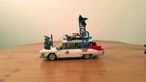 Lego Ghostbusters Firehouse Stop Motion Build