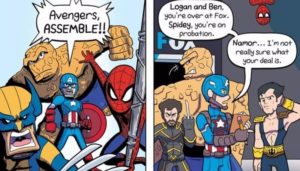 Marvel Comics vs. Marvel Movies