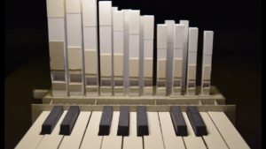 organ, Built entirely of paper